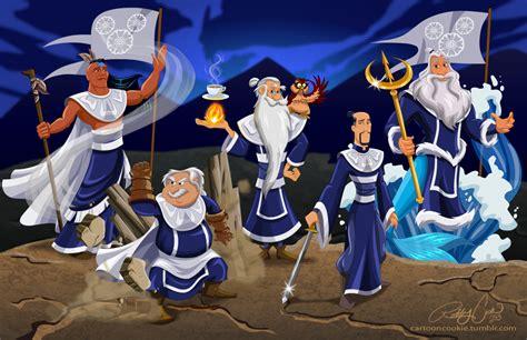 avatar the last airbender white lotus artist robby cook re imagines disney princesses as avatar