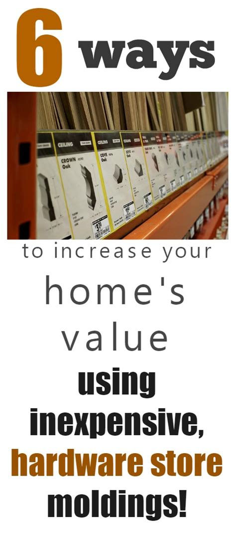 increasing your home s value with basic moldings