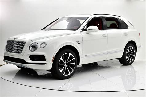 suv bentley white 2017 bentley bentayga w12