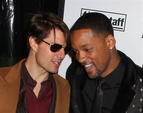 Will Smith Turned Tom Cruises Invite To Be A Scientologist by Will Smith Tom Cruise Tom Cruise And Will Smith At The