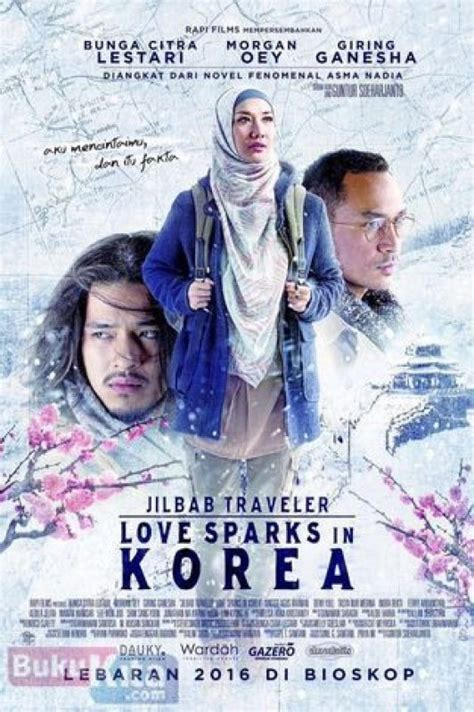 Novel Spark Korean Asma bukukita jilbab traveler sparks in korea cover