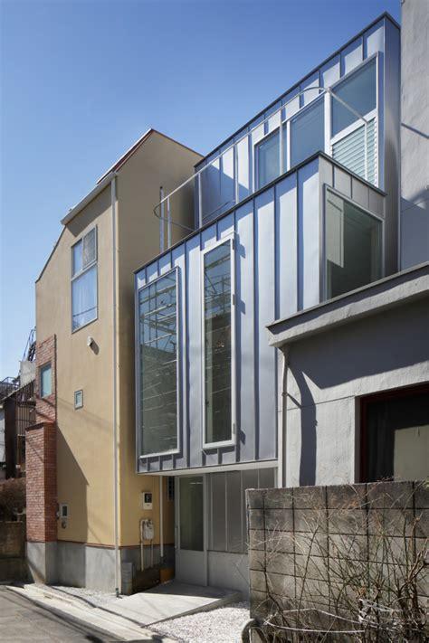 sh design home builders minimalist modern house sh in tokyo made of steel design