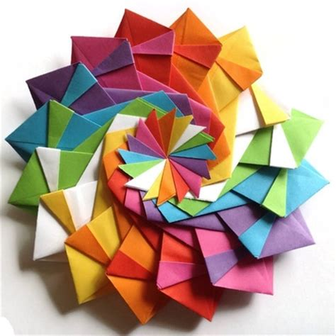 How To Make Geometric Origami - getting started with geometric modular origami artful maths