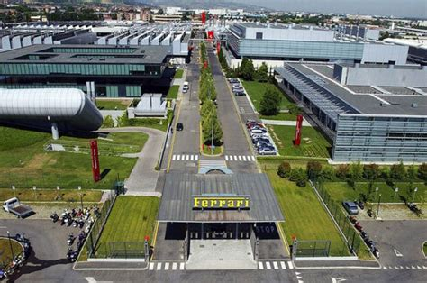 maranello italy inside ferrari s factory in maranello italy