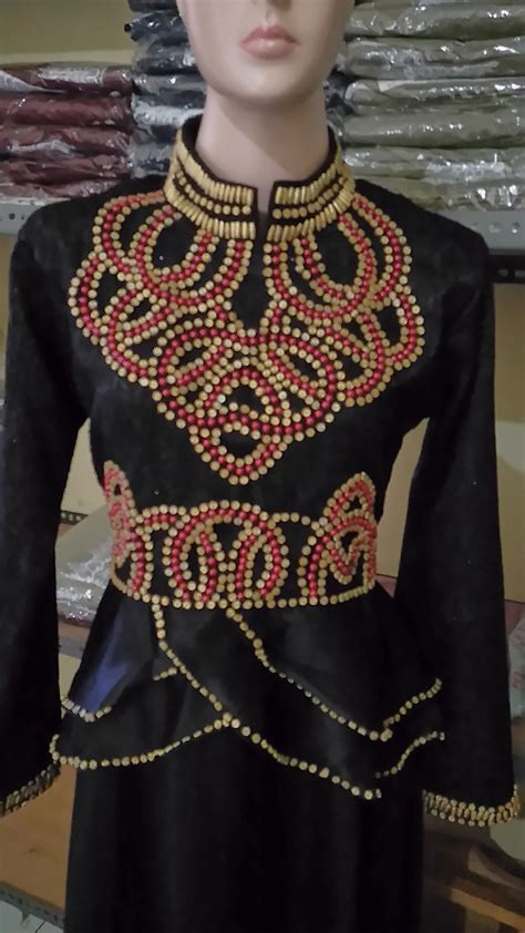 Longdress Crepe Payet baju pesta talita satin mix jaguard busana muslim modern