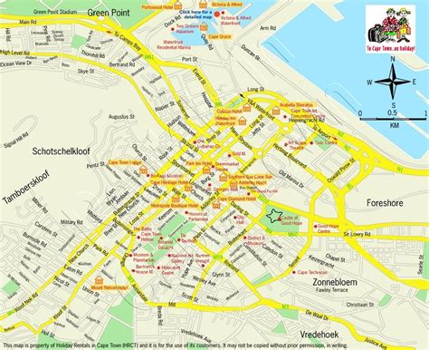 printable street map of llandudno cape town street maps holiday rentals in cape town