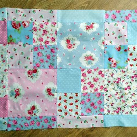 Patchwork Wadding - patchwork lace and burlap crafternoon treats