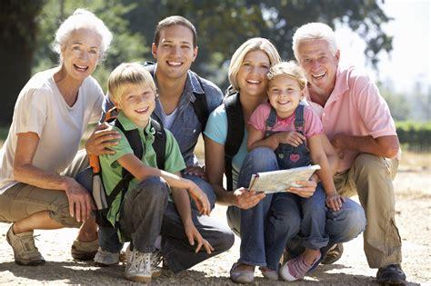 Family It Up by Three Generation Family On Country Walk Solana Family Dental