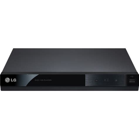 small format dvd player lg dp122 dvd player with usb direct recording dp122 b h photo