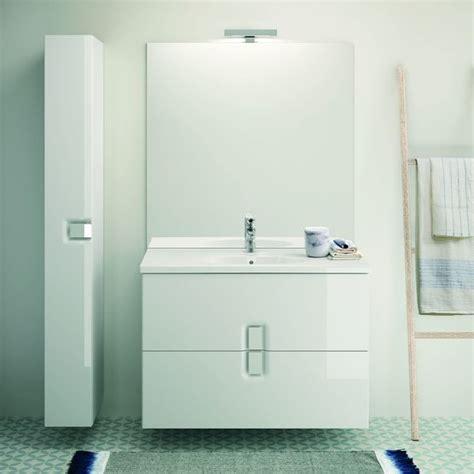 ensemble de meuble suspendu pour salle de bains allia