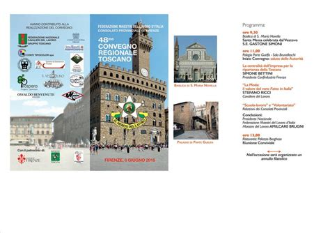 consolati firenze federazione maestri lavoro d italia consiglio