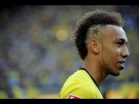 dortmund haircut pierre emerick aubameyang welcome to borussia dortmund