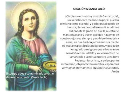 oracion a santa lucia patrona de la vista gladys calzadilla la obra y sus espacios de exhibici 243 n2013