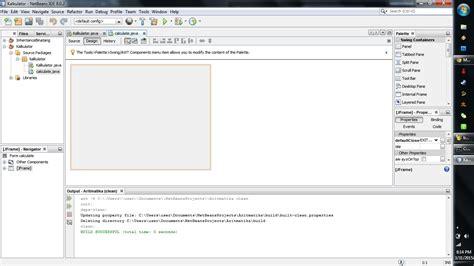 Java Netbeans Absolutelayout | membuat kalkulator sederhana pada java netbeans
