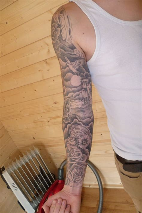 clouds tattoo sleeve images for tatouage