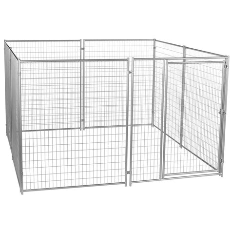 heat l for dog kennel lucky dog 6 ft h x 10 ft w x 10 ft l modular welded