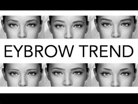 wayne goss eyebrow tutorial wayne goss tutorial here s the latest eyebrow trend but