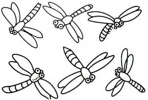 free prinable insects coloring pages for kids clipart