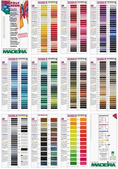 Home Interiors Party Consultant by Madeira Thread Colors 28 Images Color Card Polyneon
