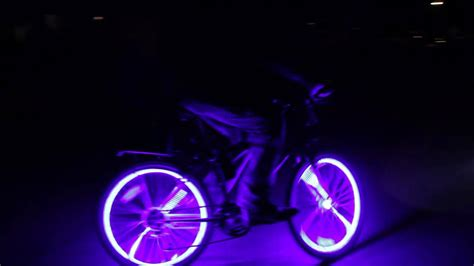 bicycle led lights coolest thing glowing bikes glow