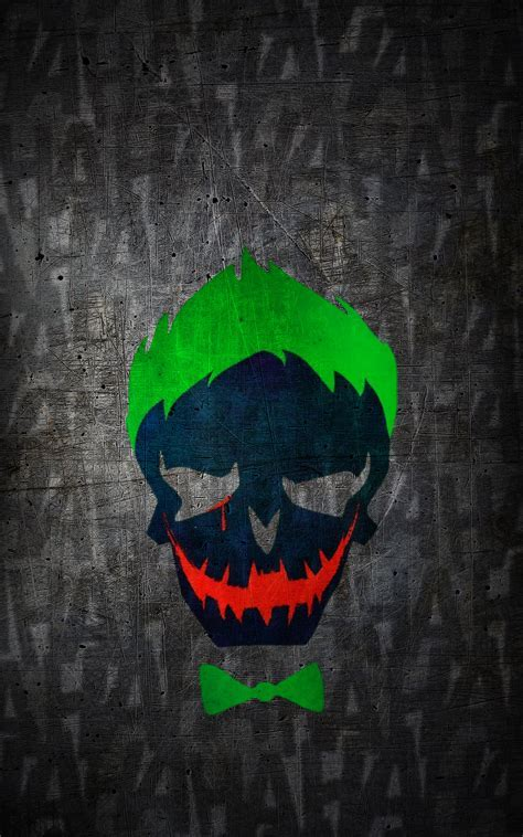 Suicide Squad Joker HD Wallpaper (iPhone/Android) by