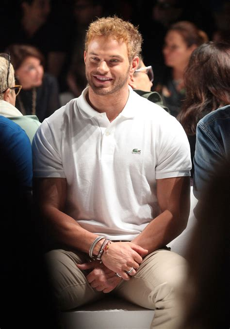 Grab Fashion Week By The Bawls by Kellan Lutz In Lacoste Front Row 2012 Mercedes