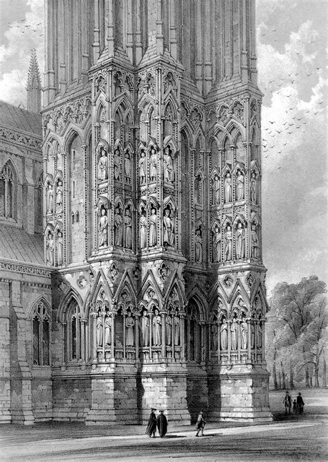 Medieval Wells Cathedral- Exterior