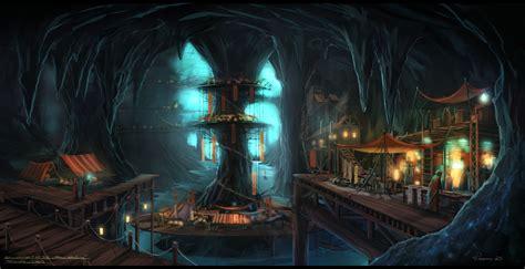 fantasy underground film room throal the circle of light obsidian portal