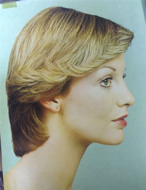 1990 short feathered wedge haircut pin by jeanette brown on 1970 s hairstyles pinterest