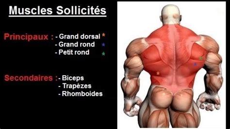 Position Banc De Musculation by Exercice Musculation Dos Quot Tirage Vertical Prise Serr 233 E