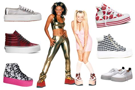 The Spice Are Backand Not A Platform Trainer In Sight by Spice Platform Sneakers Return To Fashion