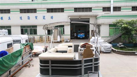 buy pontoon ecocor 2018 new 15ft mini outboard fishing pontoon