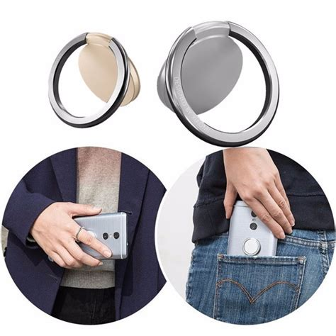 Original Xiaomi 360 Degree Finger Ring Mobile Phone Stand Holder Olb10 1 original xiaomi 360 rotation anti drop finger ring phone