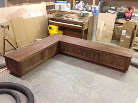 Building A Corner Bench Seat With Storage