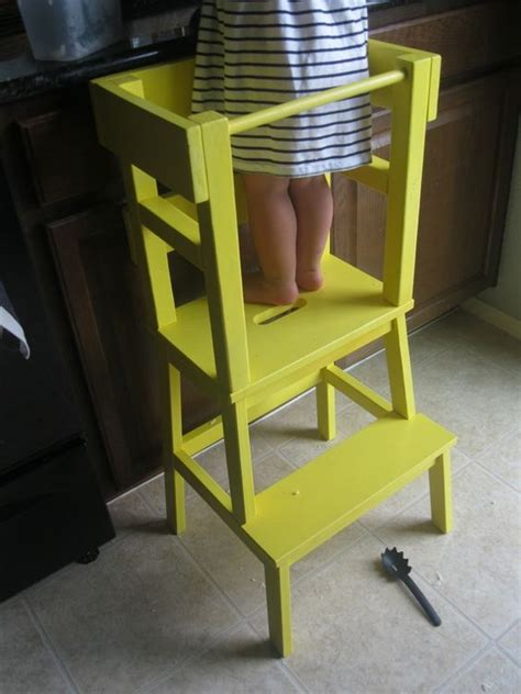ikea step stool kid kitchen helper ikea hack kid stuff pinterest step