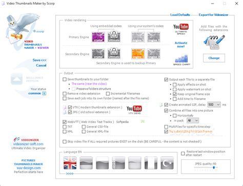 design video thumbnails maker suu design video thumbnails maker v3 0 0 8 incl keygen lz0
