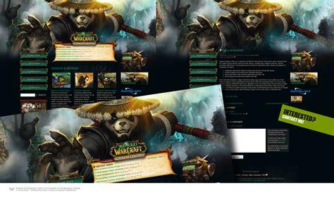 world of warcraft mists of pandaria main theme login wow mists of pandaria wordpress theme by forza27 on deviantart