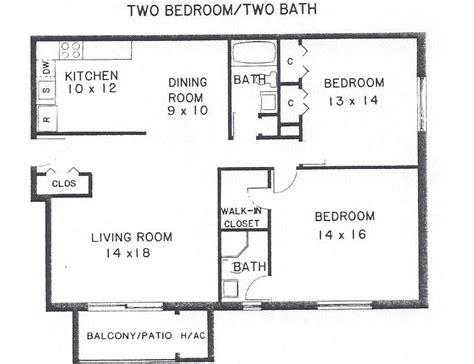 bedroom  bath floor plan villa belmont condominiums