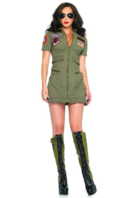 best costumes top gun flight dress