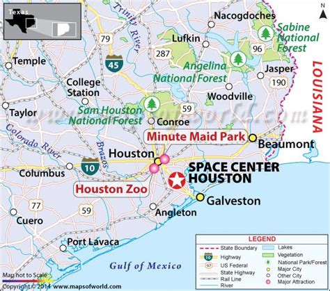 jsc houston map space center houston facts travel info nearby