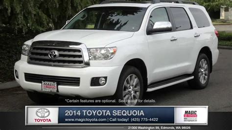 Magic Toyota 2014 Toyota Sequoia Review Magic Toyota Toyota Dealer