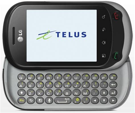 Telus Cell Phone Lookup Canada News Lg Optimus Chat Now Available At Telus And Koodo