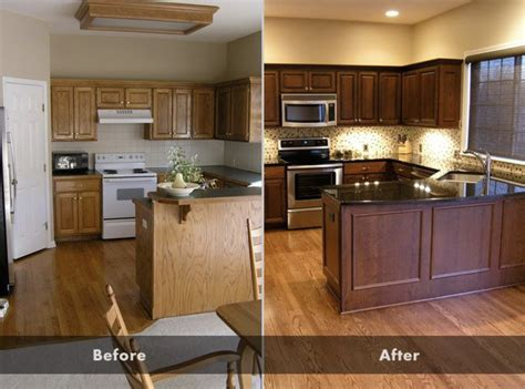 custom cabinets  stain    stain built