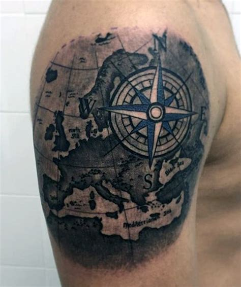 compass tattoo men pocket compass designs www pixshark images
