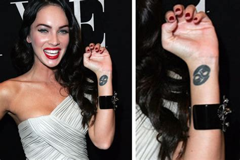 megan fox wrist tattoo megan fox pictures megan fox tattoos and their meanings