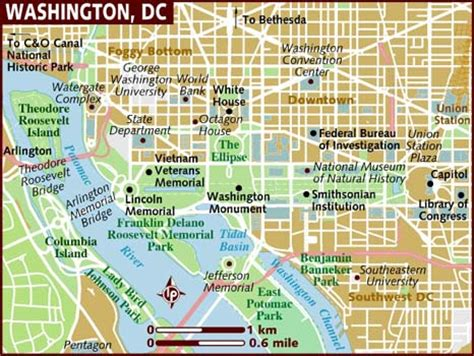 washington dc map nw washington dc the best state