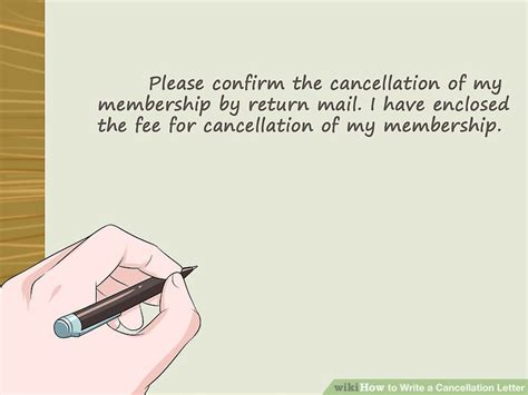 how to write a cancellation letter easy ways to write a cancellation letter wikihow