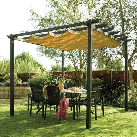 Retractable Aluminium Garden Patio Pergola And Canopy