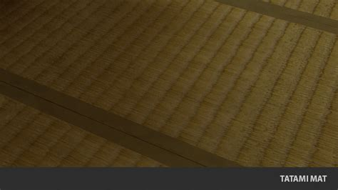 Tatami Mat Flooring by Tatami Mat Traditional Japanese Flooring 3d Model