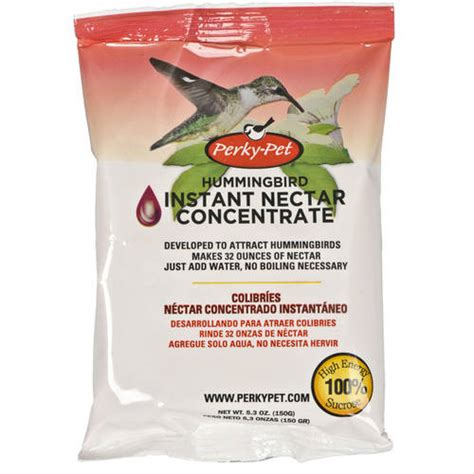 perky pet instant hummingbird nectar feeder mix walmart com